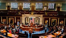 Coronavirus Pandemic 2021 - US Capitol Impeachment