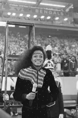 Diana Ross at Super Bowl