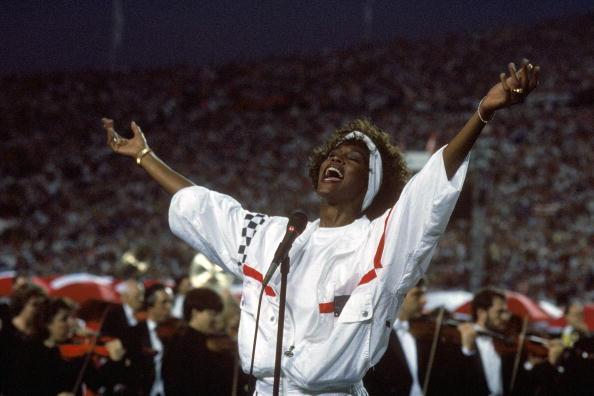 Whitney Houston, 1991