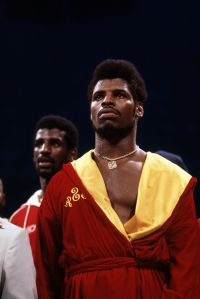 Michael Spinks And Leon Spinks In The Ring