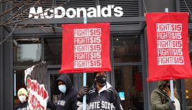 Fast Food Workers Demonstrate Nationwide For Better Pay