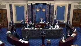 Second Impeachment Trial Of Donald J. Trump Continues In Senate