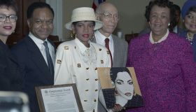 Performers and Officials at National Council of Negro Women Event
