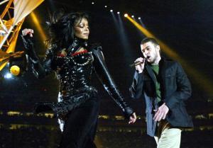 Janet Jackson and Justin Timberlake perf