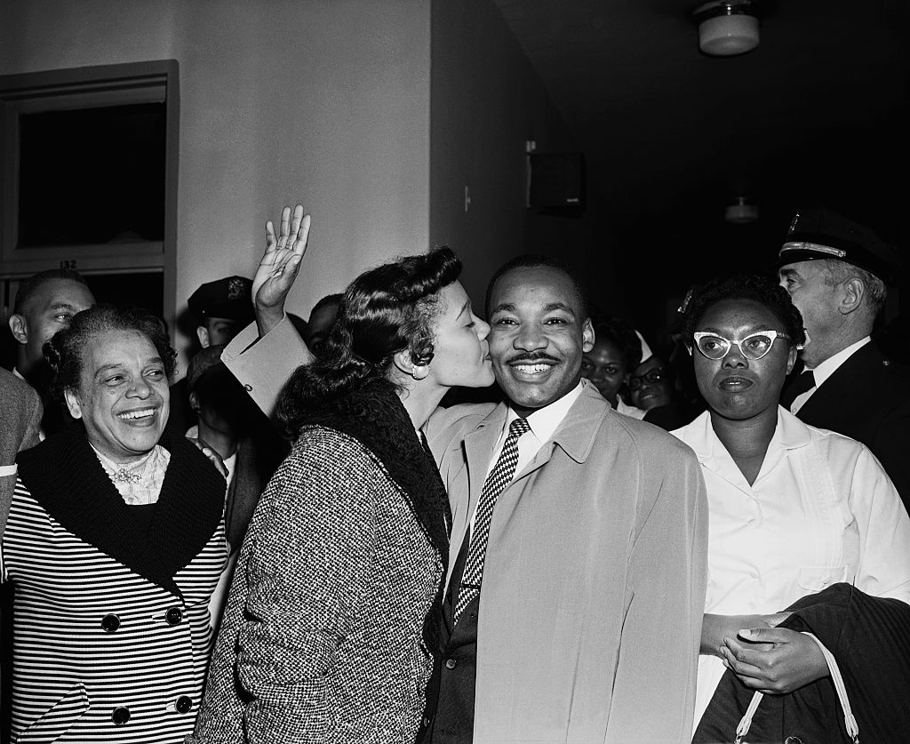 Martin Luther King And Wife In Hospital