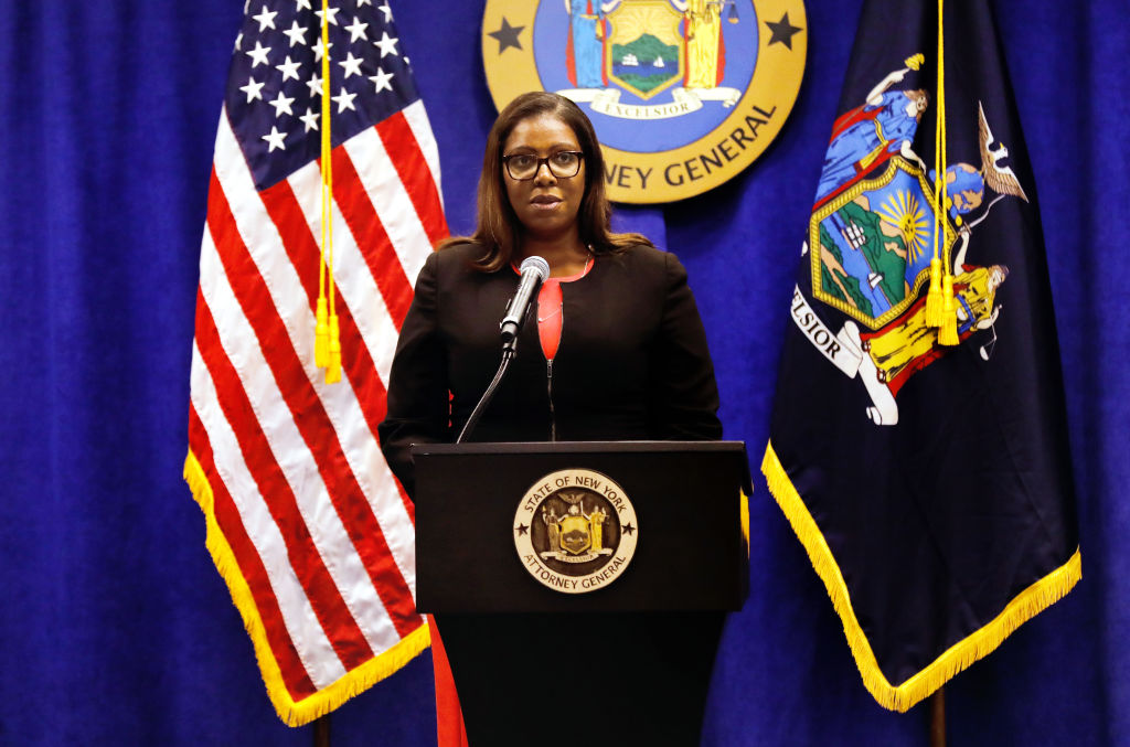 New York State Attorney General Letitia James Makes Announcement