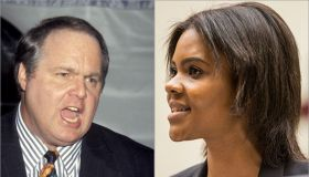 Rush Limbaugh and Candace Owens