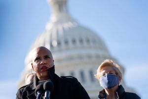 Congressional Democrats Hold Press Conference On Canceling Student Debt