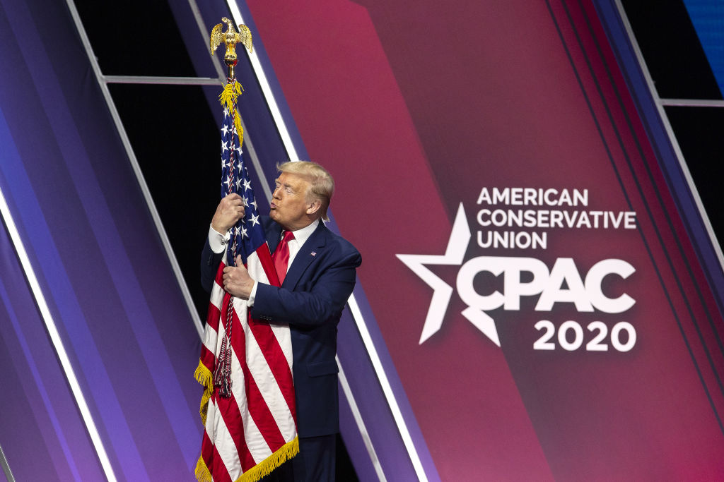The Irony: CPAC, Which Worships Trump And His Racism, Draws The Line At Anti-Semitism