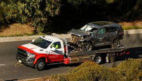 Tiger Woods, car crash, Los Angeles, California