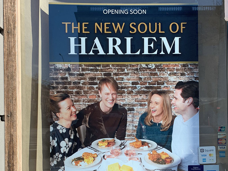 Harlem restaurant fake movie poster