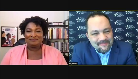 Ben Jealous Compares Stacey Abrams' Political Genius To A Game Of Spades: 'Sacrifice In Order To Win'