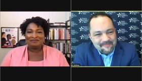 Ben Jealous and Stacey Abrams conversation