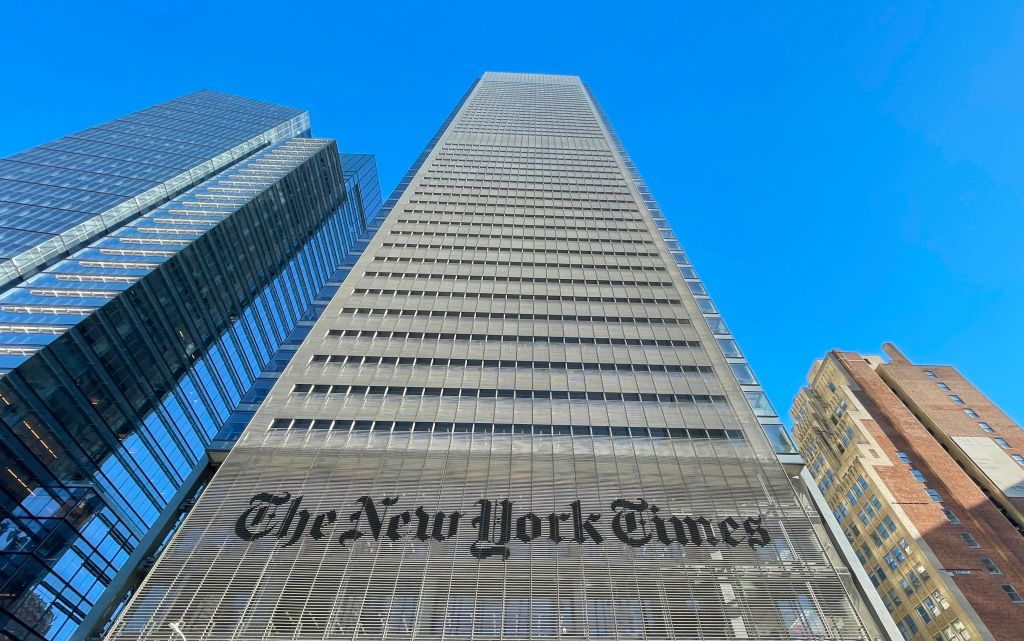 US-ARCHITECTURE-MEDIA-NEW YORK TIMES