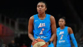WNBA: SEP 05 Las Vegas Aces at Atlanta Dream
