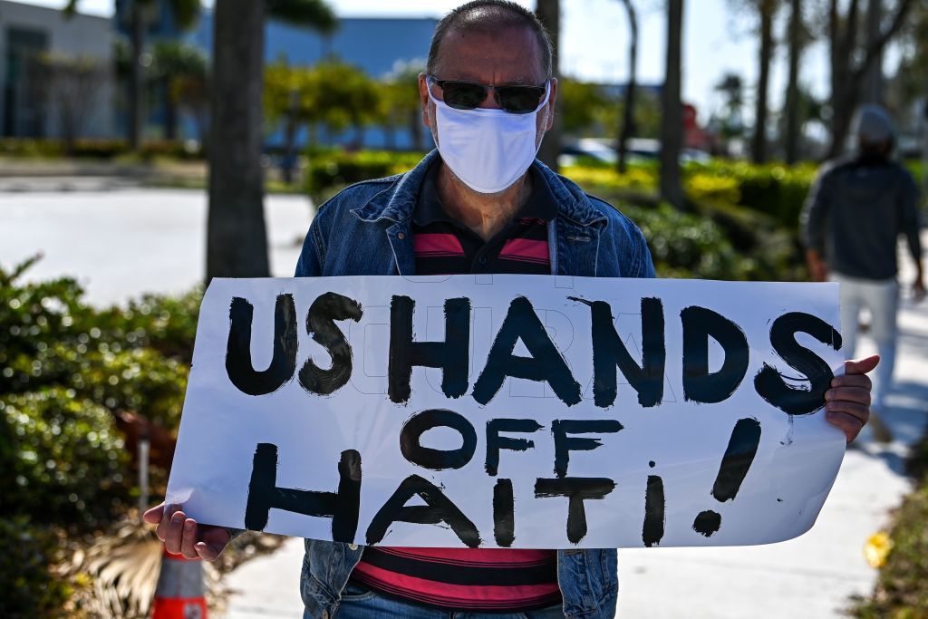 US-HAITI-PROTEST-IMMIGRATION