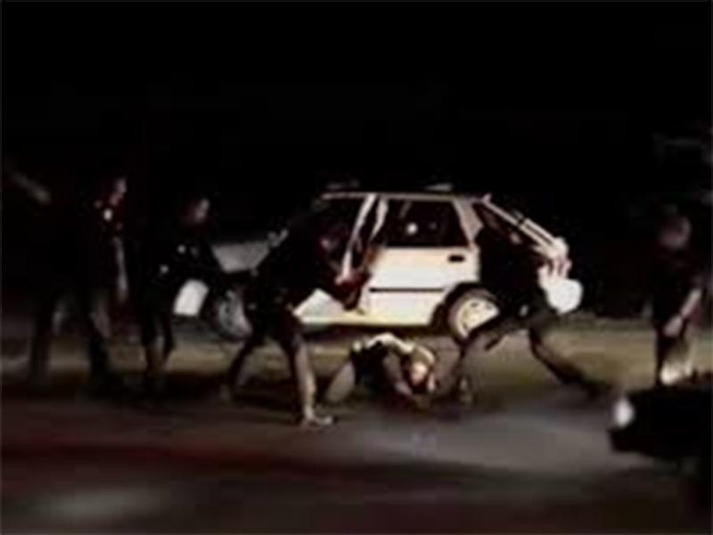 Rodney King beating video