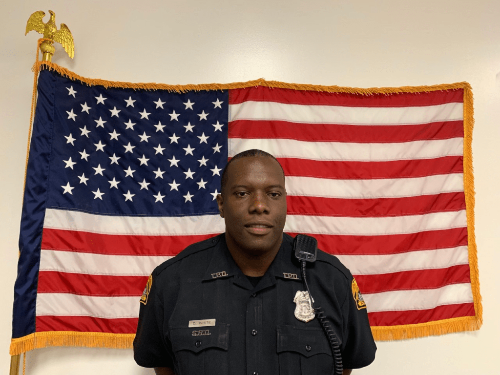 Delvin White, fired Tampa Police Officer for using the N-word