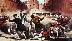 Boston Massacre, March 5th, 1770 Illustration