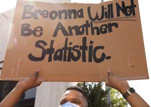 BLM, Breonna Taylor, protest, La Cañada.