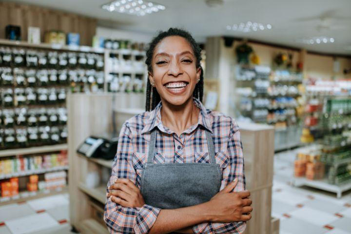 Businesswoman portrait - small business