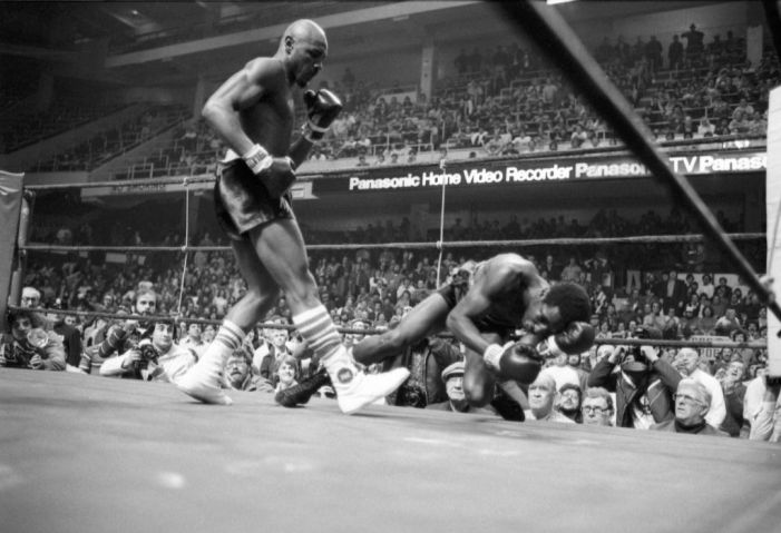 Hagler-Seales Middleweight Fight