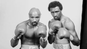 Thomas Hearns and Marvin Hagler portrait
