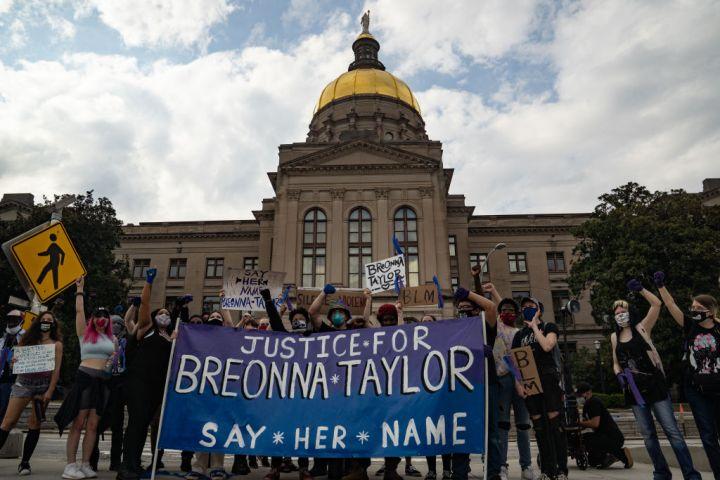 Breonna Taylor Rally: Atlanta