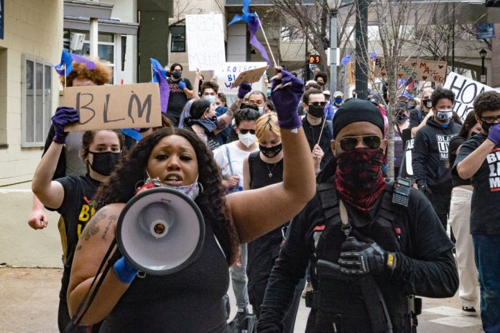 One Year Anniversary Of The Killing Of Breonna Taylor Marked By Protests