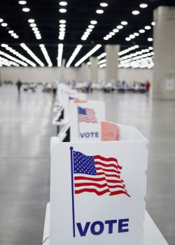 Voters Cast Ballots In Kentucky Primary Election