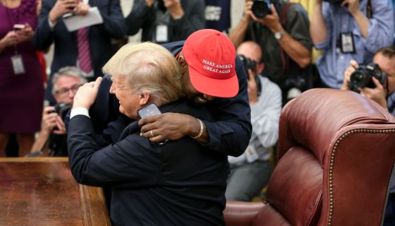 MAGAS Money: Kanye West Net Worth Ballooned By 37,000% During Trumps Term