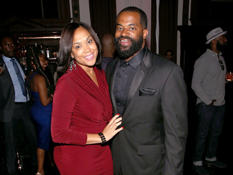 State's Attorney for Baltimore Marilyn Mosby and husband Maryland Delegate, Nick Mosby