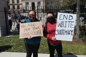 Stop Asian Hate ATL rally in Atlanta