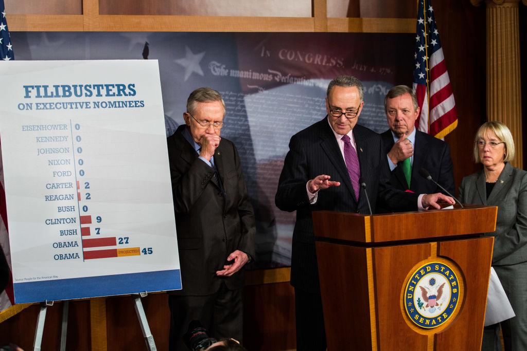 "Senate Democrats Pass ""Nuclear Option"" On Filibuster Rules"