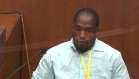 Donald Wiliams, witness in Derek Chauvin's murder trial