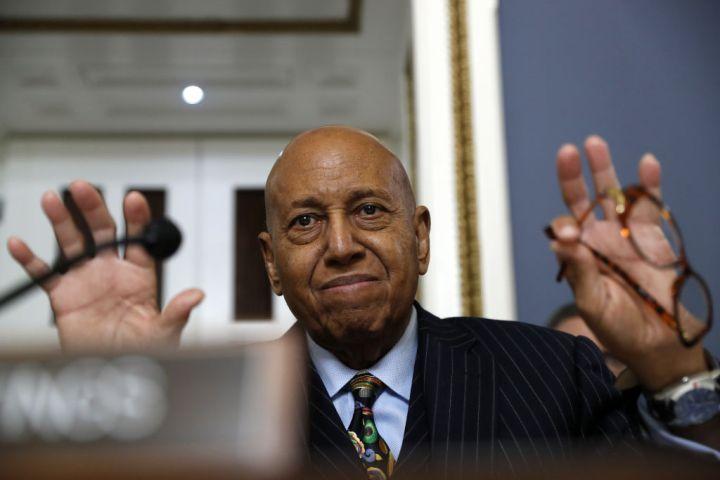 Alcee Hastings, congressman, 84