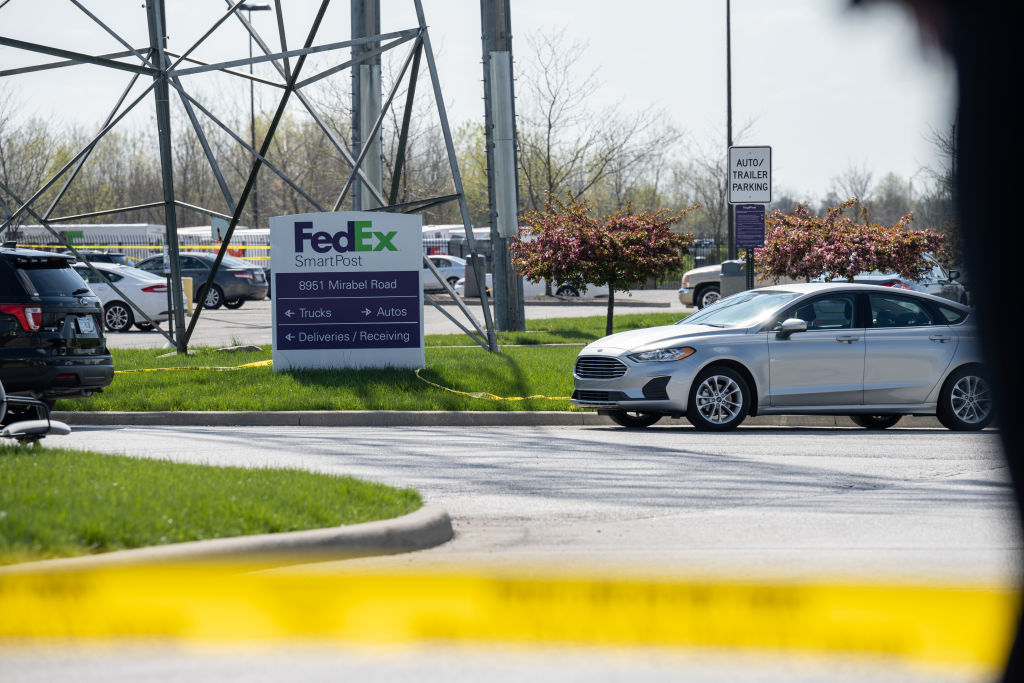 Mass Shooting At Indianapolis FedEx Facility Leaves Eight Dead