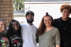 Ashlea Burr and family