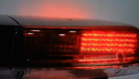 Flashing ambulance lights for emergencies