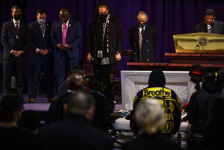 Public Viewing Held For Daunte Wright In Minneapolis