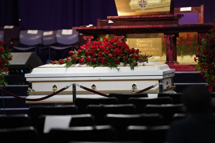 Funeral services were held for Daunte Wright, the Black motorist fatally shot by a Minnesota police officer this month