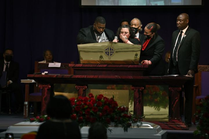 Funeral Held For Daunte Wright In Minneapolis