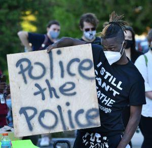 BLM protest police violence in North Carolina
