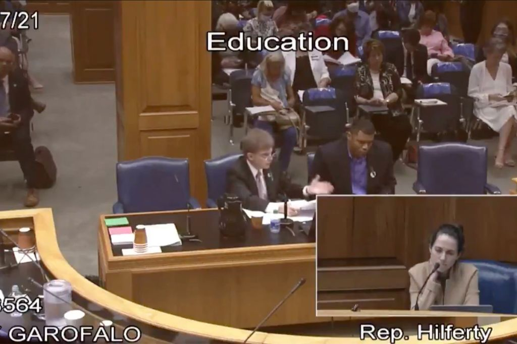 "Louisiana Republican State Rep. Ray Garofalo Jr. talks ""the good"" of slavery"
