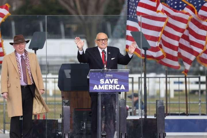Save America Rally in Washington