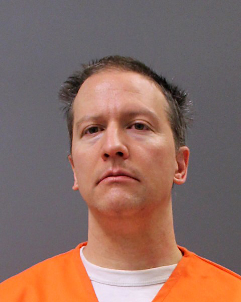 Derek Chauvin Booking Photo