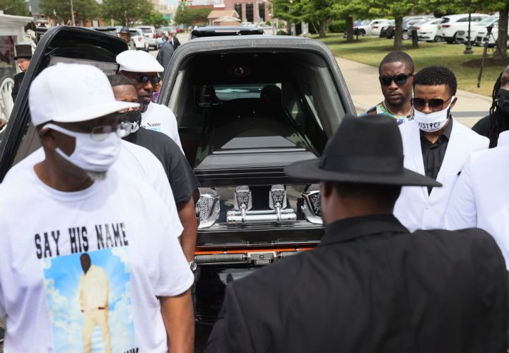 Andrew Brown Jr.'s Funeral