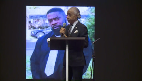 Al Sharpton at Andrew Brown Jr.'s funeral