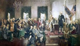 Signing The US Constitution