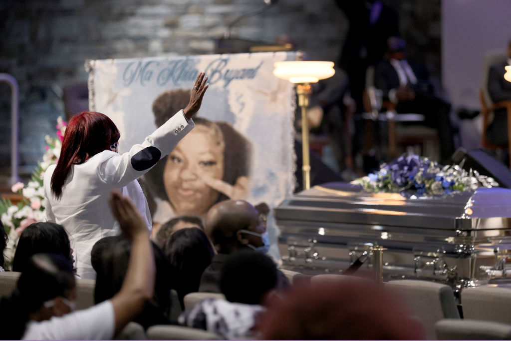 Wake And Funeral Held For Ma'Khia Bryant In Columbus, OH
